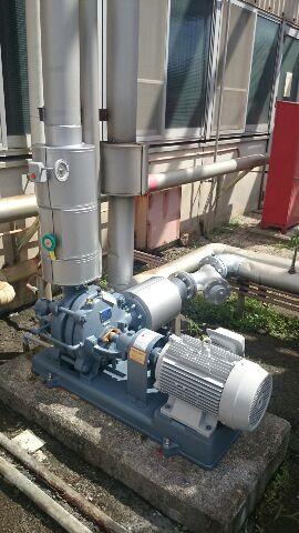 冷却水ポンプ交換工事