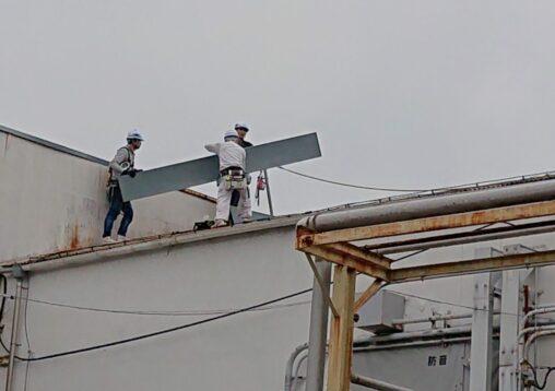 スレート雨漏り補修工事